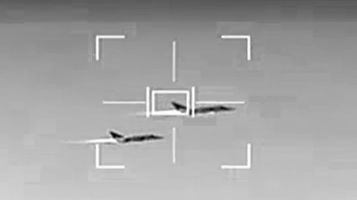 Bölgedeki Rus savaş uçakları ifşa olmuştu... Bu görüntüleri inkar ettiler