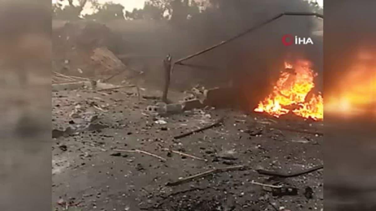 Son dakika... Afrin'de terör saldırısı