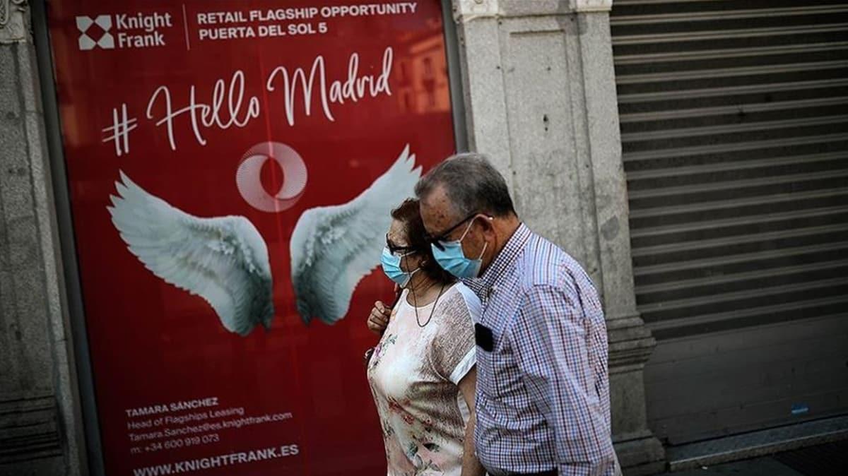 İspanya'da son 24 saatte koronavirüsten 1 kişi hayatını kaybetti