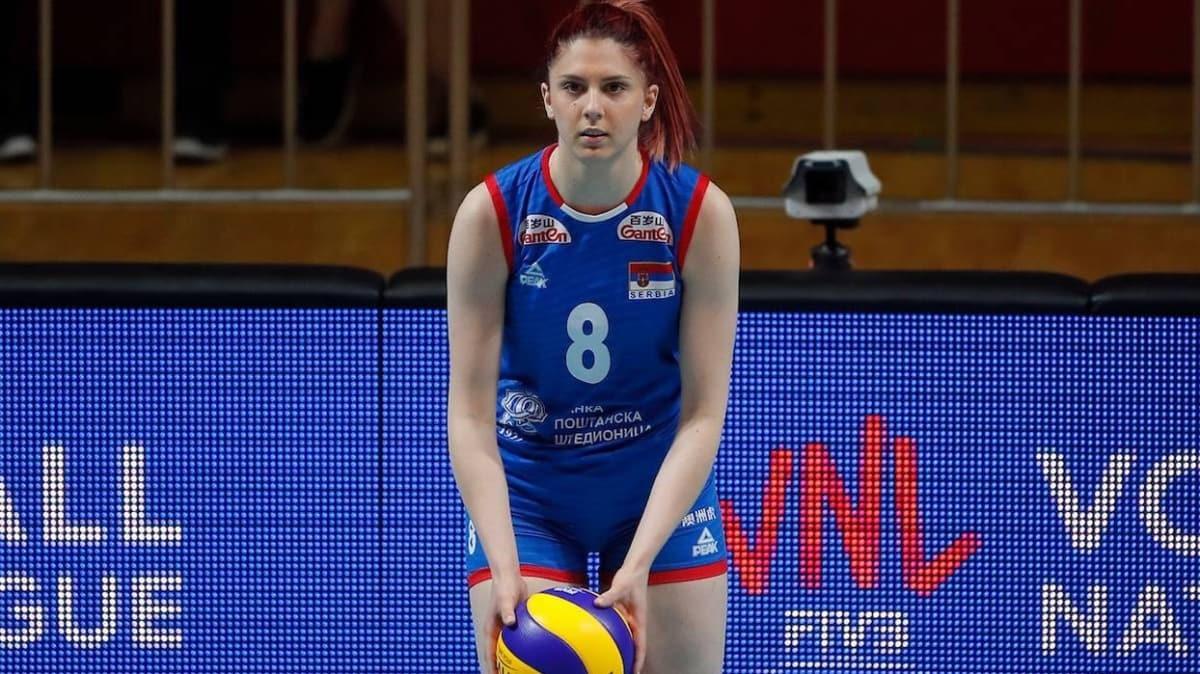 Eczacıbaşı vitrA, Sırp voleybolcu Sladjana Mirkovic'i kadrosuna kattı