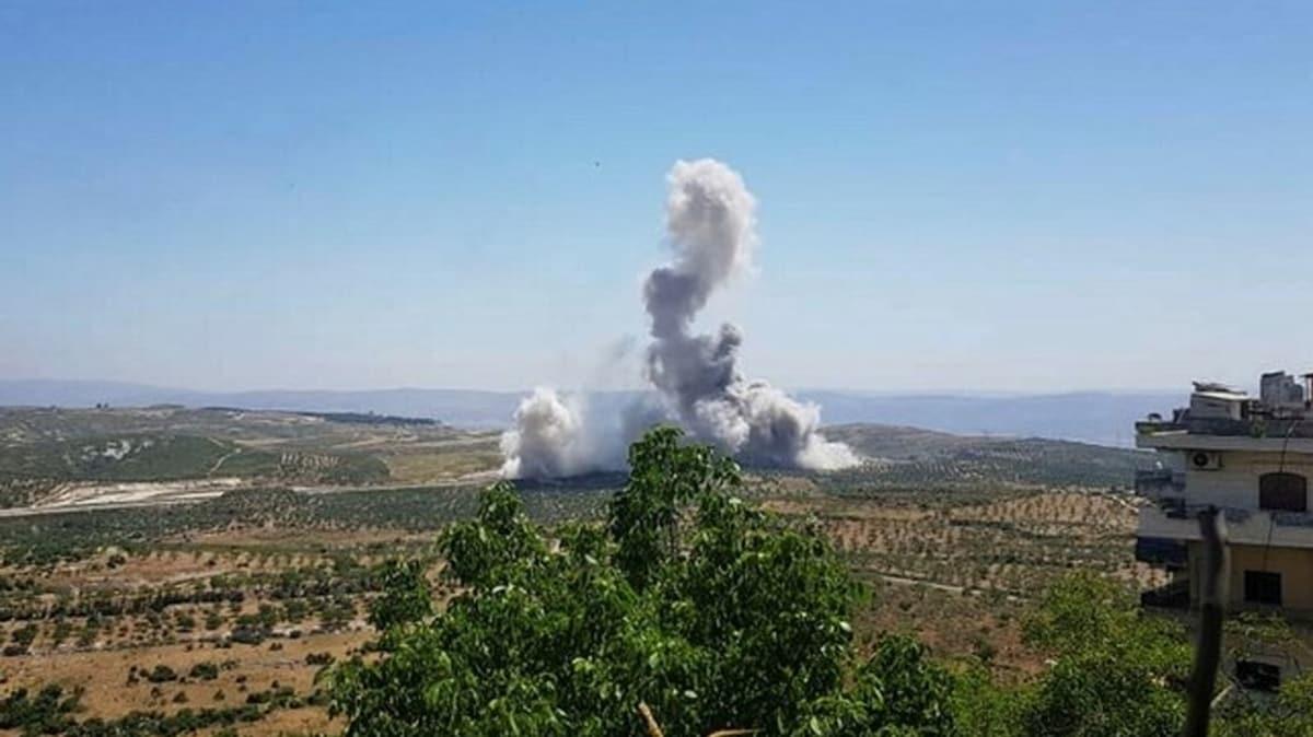 İdlib'de hain saldırı! TSK konvoyunun geçişi sırasında patlama