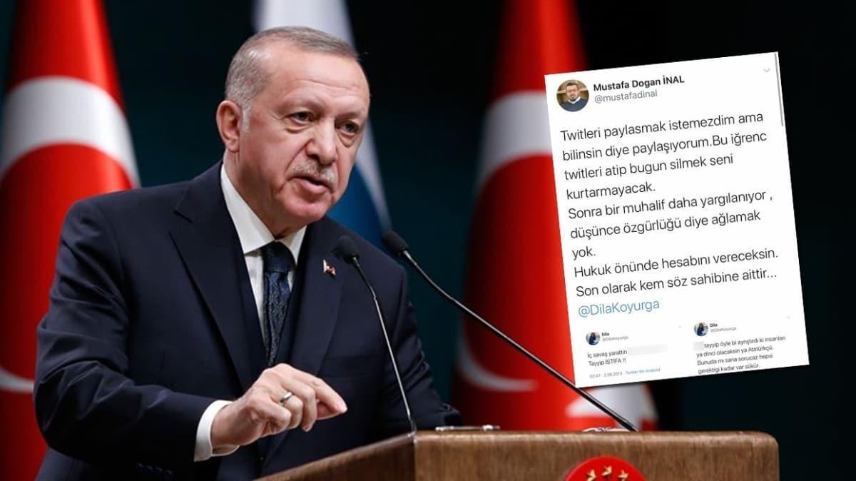 Başkan Erdoğan'a hakaret eden CHP'li Dila Koyurga hakkında suç duyurusu