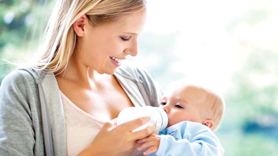 Bebeğinize uykudan önce süt vermeyin