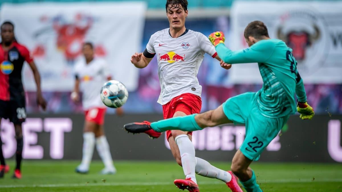 Leipzig - Hertha Berlin maçında kazanan yok