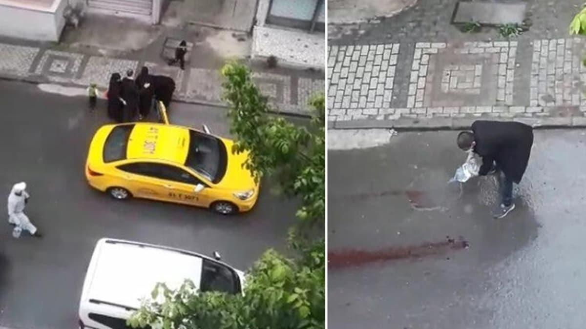 Akılalmaz olay! Doğum yapan kadını taksiden attı