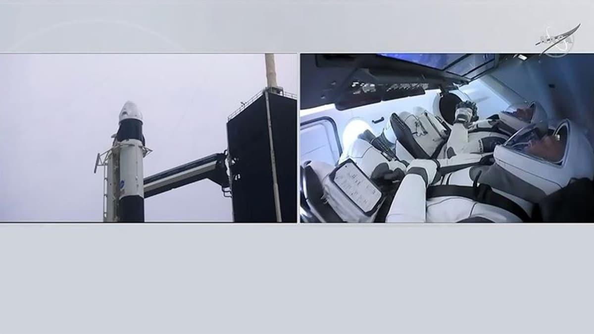 Crew Dragon'a hava engeli! SpaceX fırlatmayı erteledi