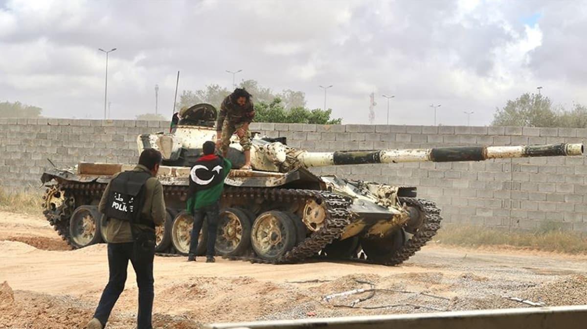 Libya ordusu Ayn Zara'da kontrolü sağladı