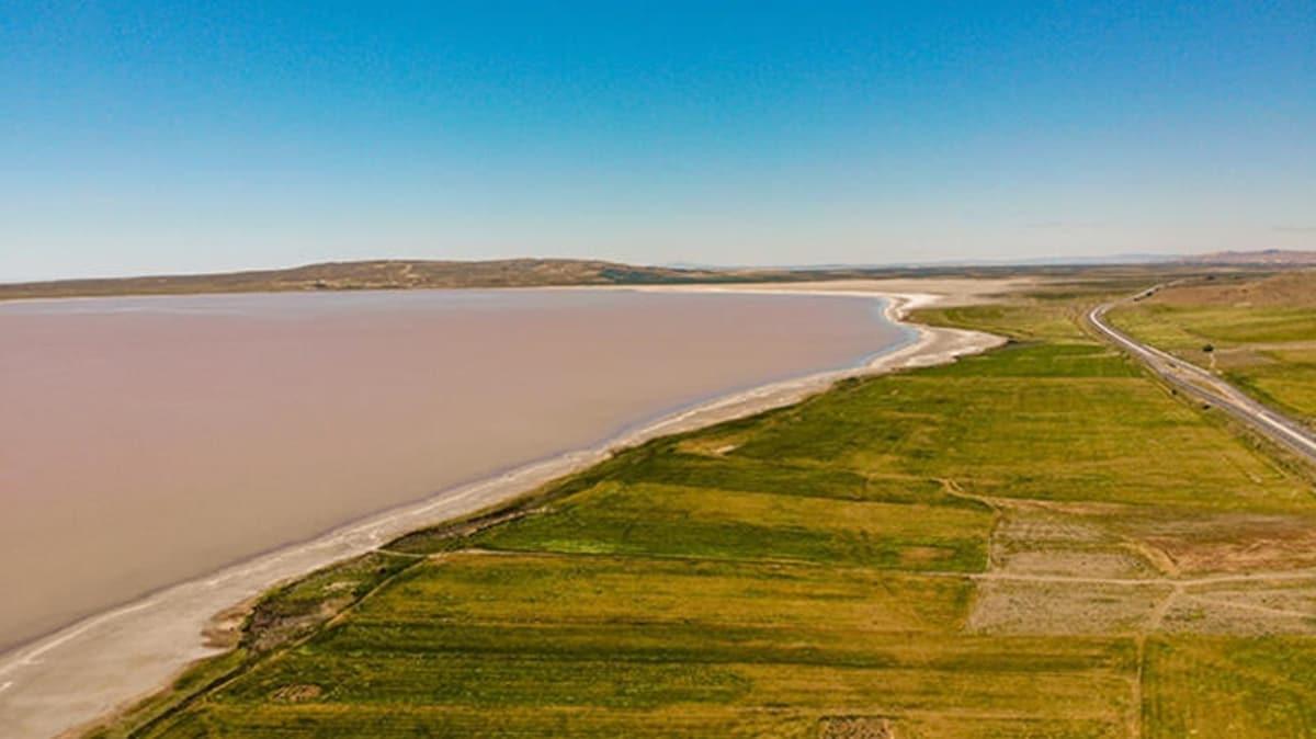 Tuz Gölü'nün rengi döndü! Nedeni belli oldu