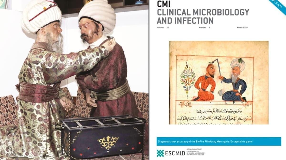 Osmanlı hekimi Sabuncuoğlu Şerefeddin, ABD dergisinde