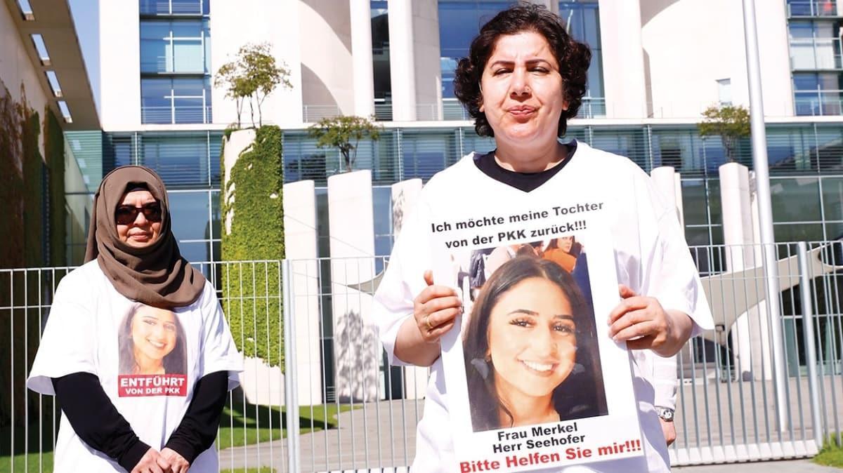 Annenin PKK eylemi başbakanlığa taşındı