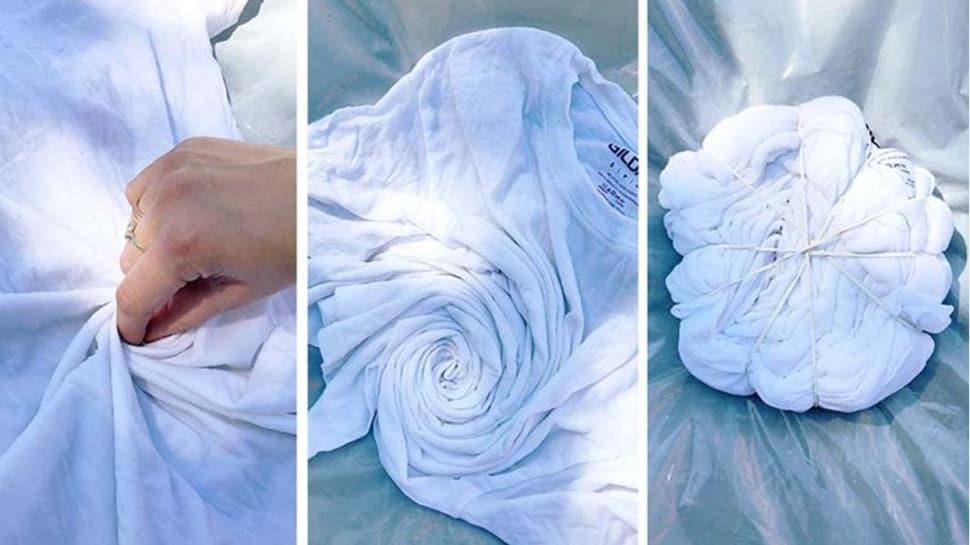 Evde batik tişört nasıl yapılır?  Kendi tişörtünüzü tasarlamanın yöntemleri