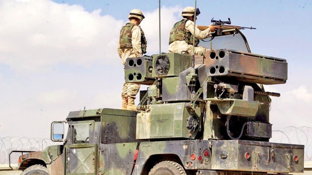 ABD'den YPG'ye füze kalkanı! Petrol sahalarını koruyorlar