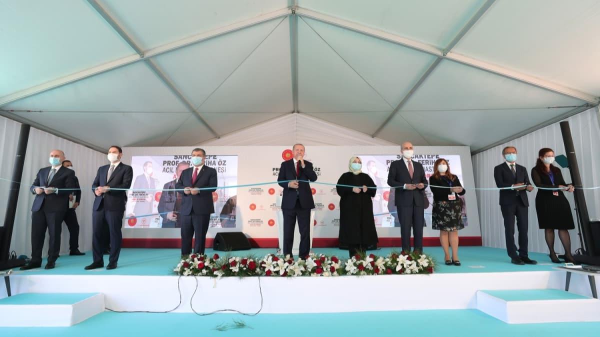 Başkan Erdoğan: Türkiye yeni imkanlar üreterek farklı bir konuma gelmiştir