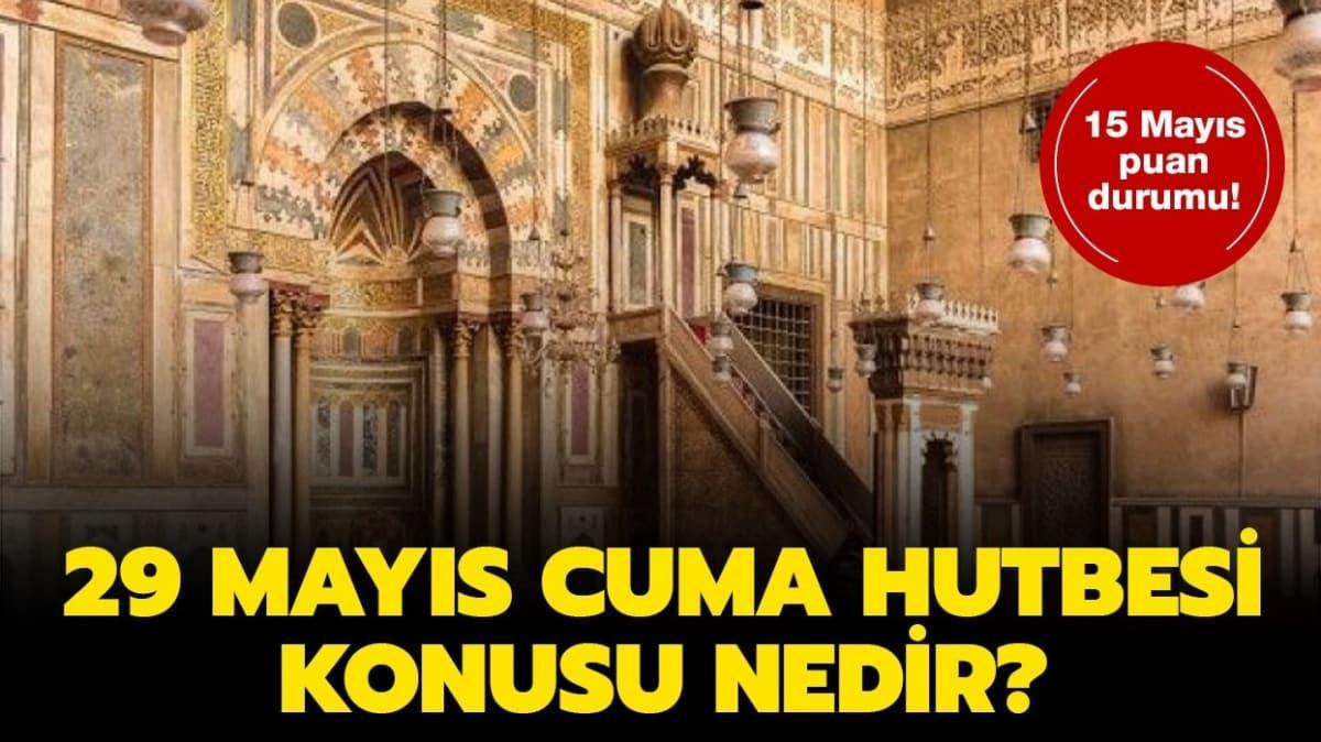 """Diyanet 29 Mayıs Cuma Hutbesi yayımladı! 29 Mayıs 2020 Cuma Hutbesi konusu nedir"""""""