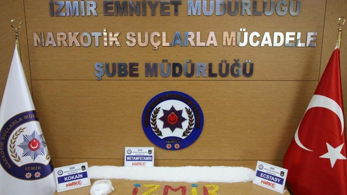 İzmir'de rekor uyuşturucu ele geçti