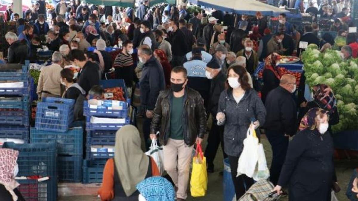 Ankara'da sokağa çıkma kısıtlaması öncesi akın ettiler