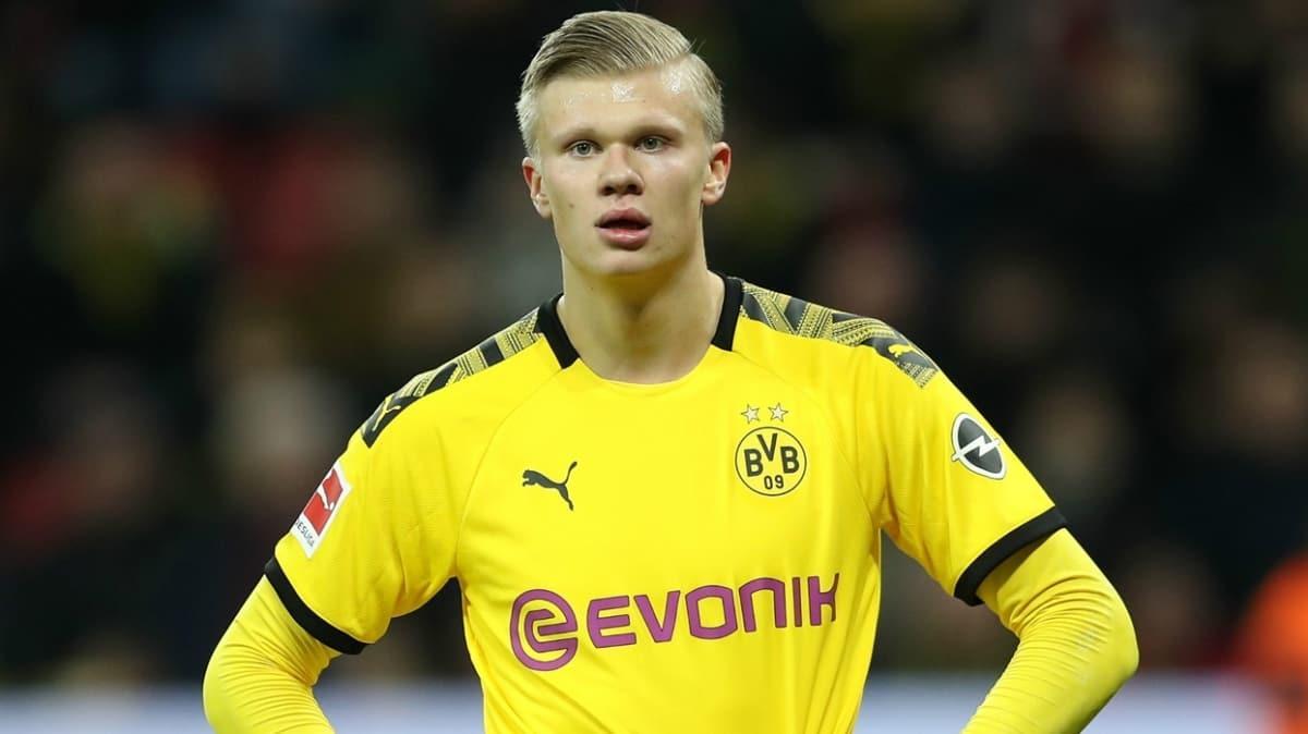 Erling Haaland sakatlığı sebebiyle Paderborn maçında yok