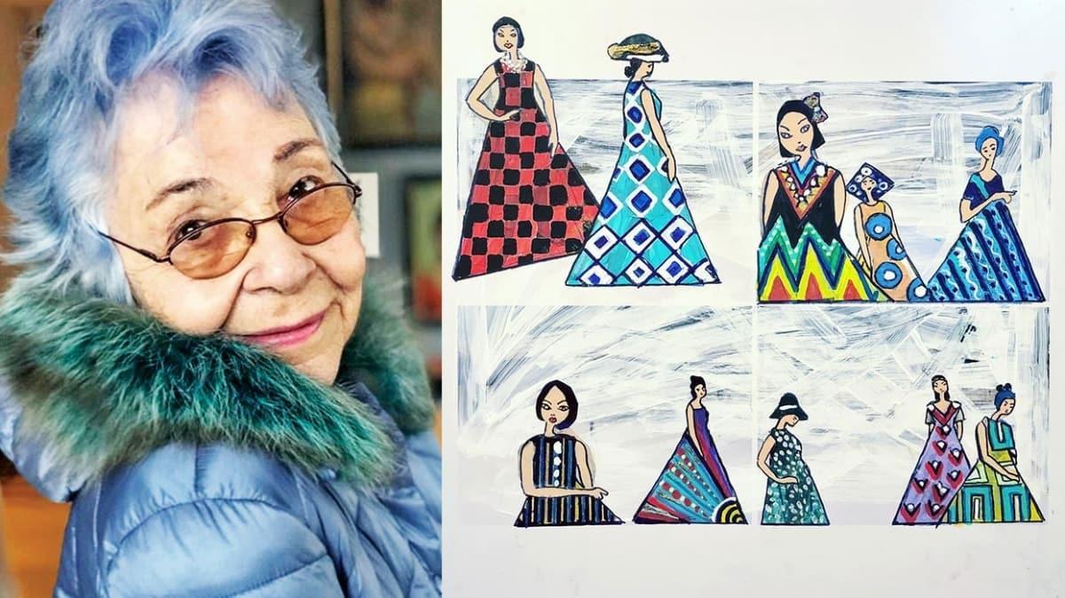 Ressam Ayşe Yaltırım: Ürettiğim sürece iyi hissediyorum