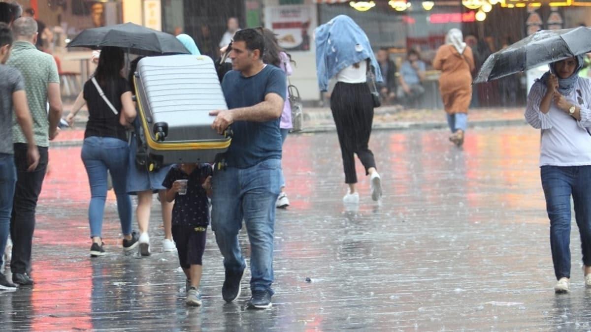Meteorolojiden o bölge için sağanak yağış uyarısı!
