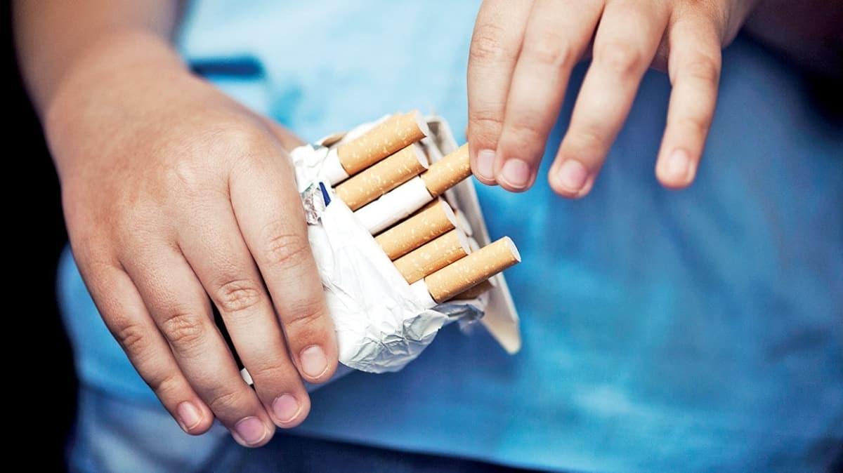 Sigara kullanımı 15 yaş altına indi