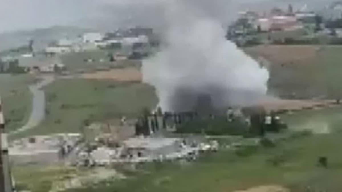 Başakşehir'de fabrikanın kazan dairesinde patlama