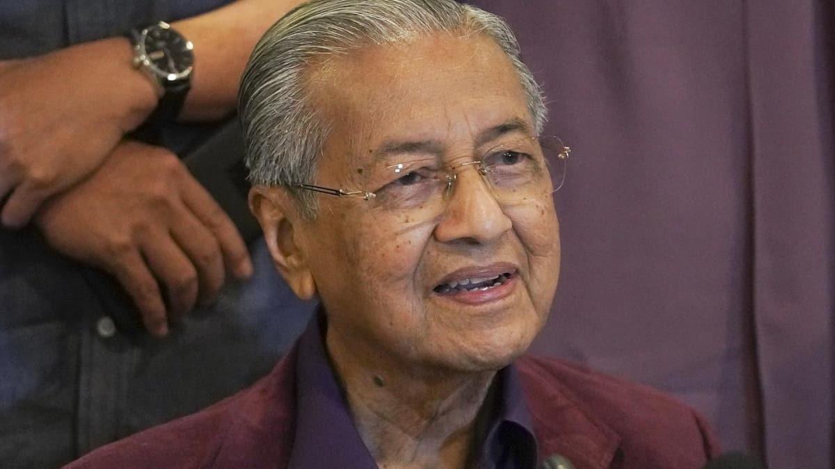 Eski Malezya Başbakanı Mahathir, kurucusu olduğu partiden ihraç edildi