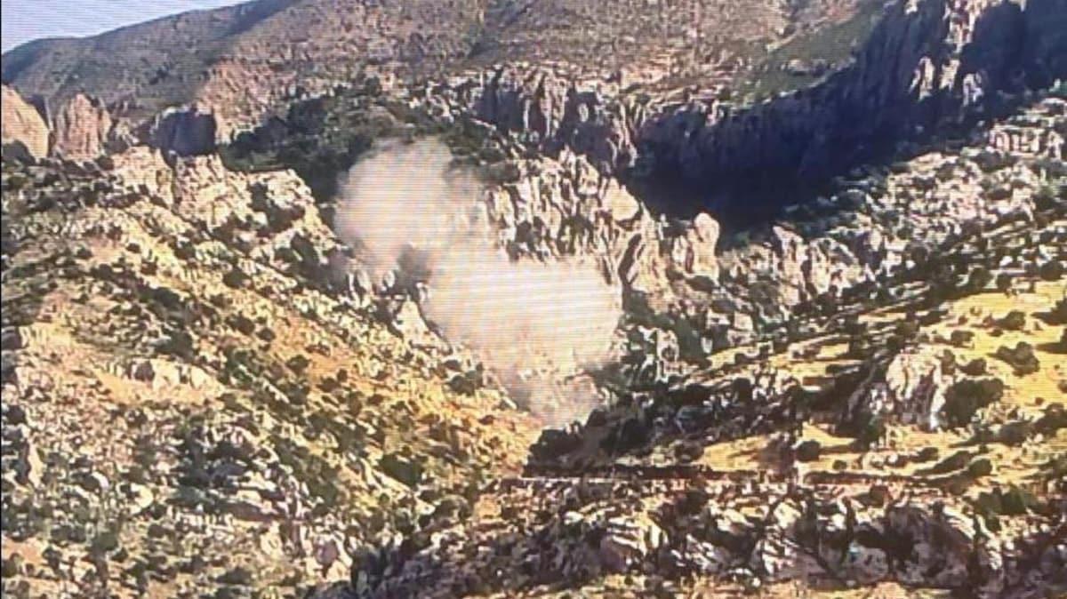 Cudi'de PKK'lı teröristler kalekol inşaatına saldırdı