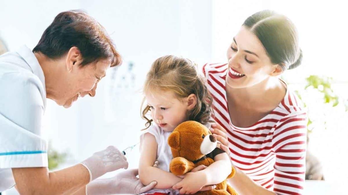 Çocukların aşılarını aksatmayın