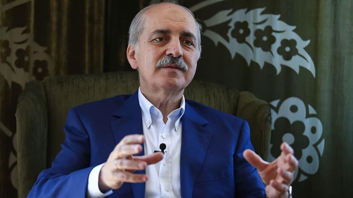 AK Parti Genel Başkanvekili Numan Kurtulmuş: Erken seçim tartışması beyhude bir çaba