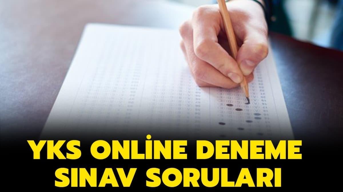 """YKS online deneme sınavı soruları ve cevapları nereden yayınlanacak"""" YKS deneme sınav soruları açıklandı mı"""""""