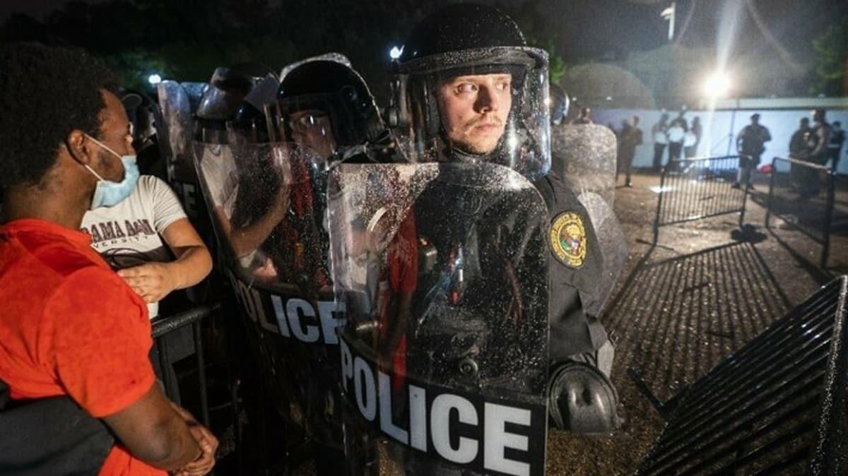 Trump'tan protestoculara gözdağı: Ordu göreve hazır!