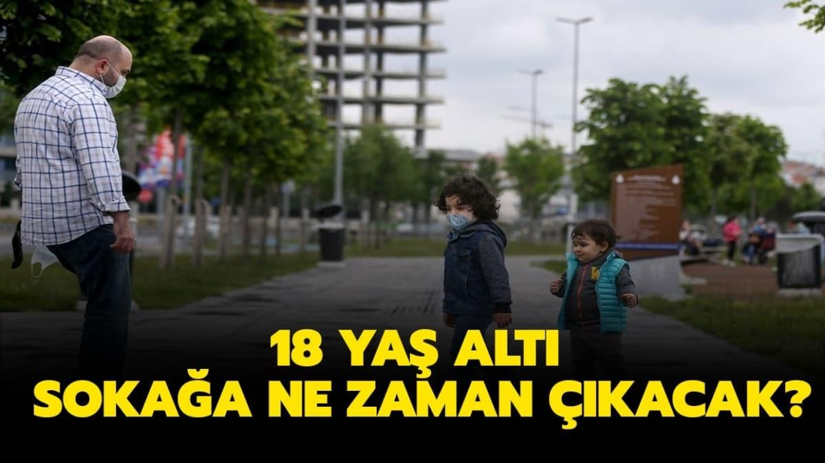 """18 yaş altı sokağa çıkma ne gün"""""""