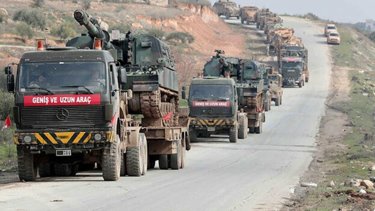 TSK'den İdlib'e büyük sevkiyat