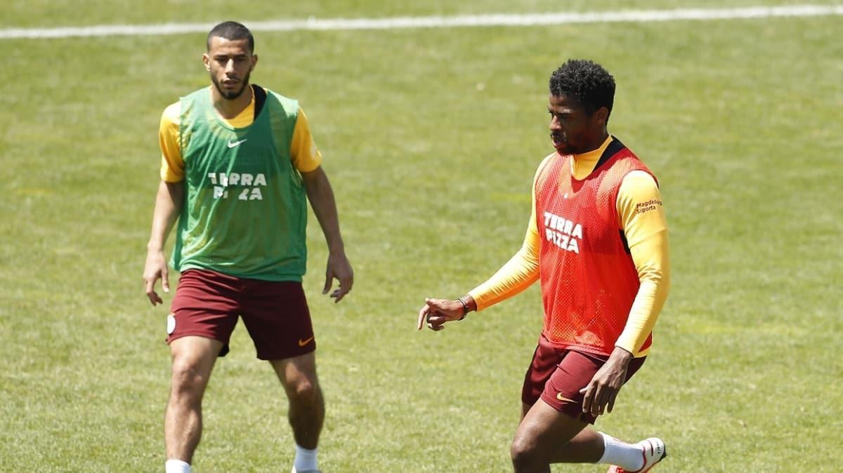 Rizespor maçına hazırlanan Galatasaray, taktik çalıştı