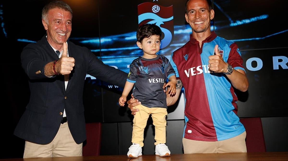 Trabzonspor, Joao Pereira ile 1 yıllık yeni sözleşme imzaladı