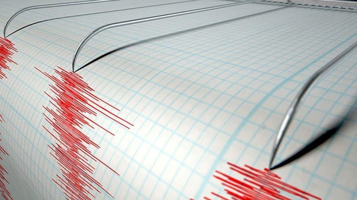 Ege Denizi'nde, korkutan deprem!