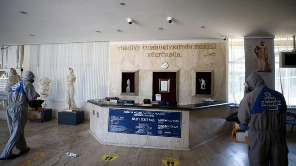 Müze ve ören yerleri yarın itibariyle ziyarete açılıyor