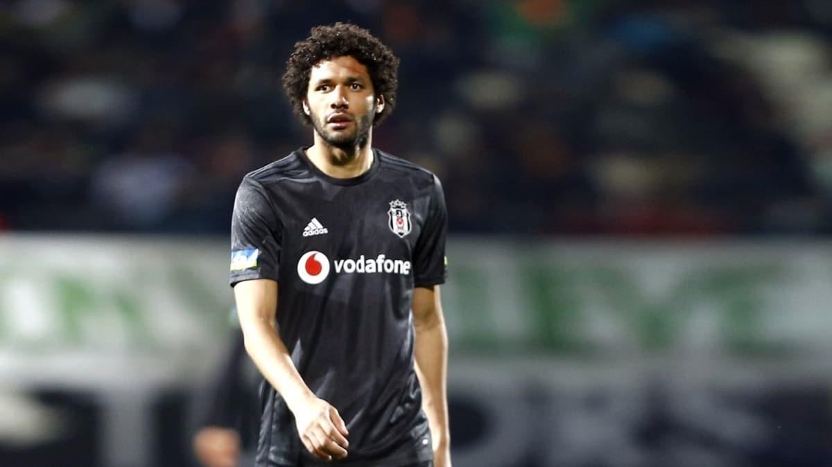 Beşiktaş'a Elneny'den kötü haber geldi
