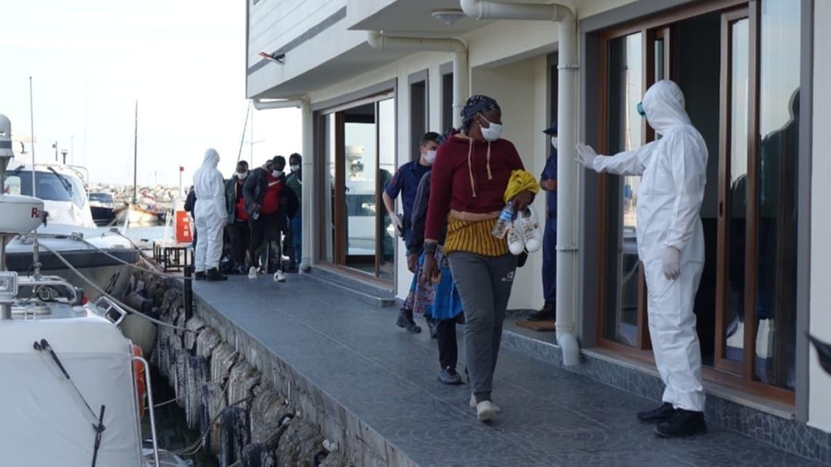 Çanakkale'de 31 düzensiz göçmen kurtarıldı