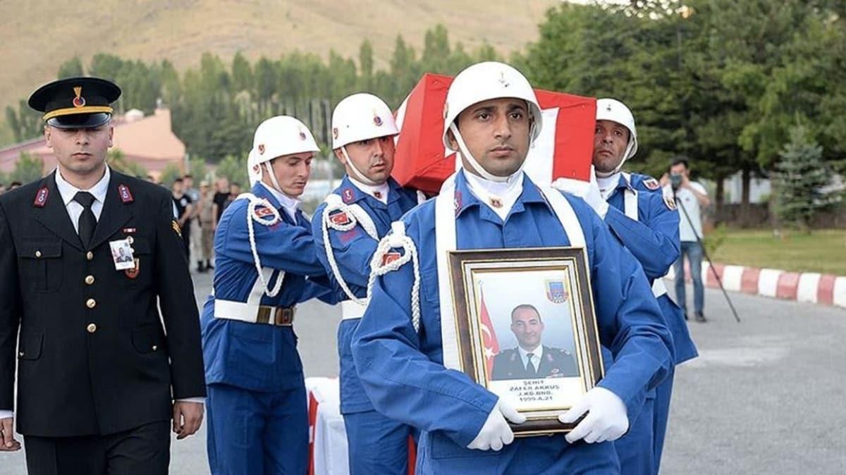 Şehit Zafer Akkuş'un faillerinden gri listedeki bir terörist daha öldürüldü