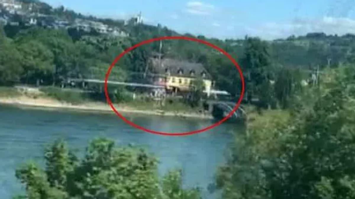 Firari FETÖ'cü Zekeriya Öz'in Almanya'da kaldığı iddia edilen villa görüntülendi