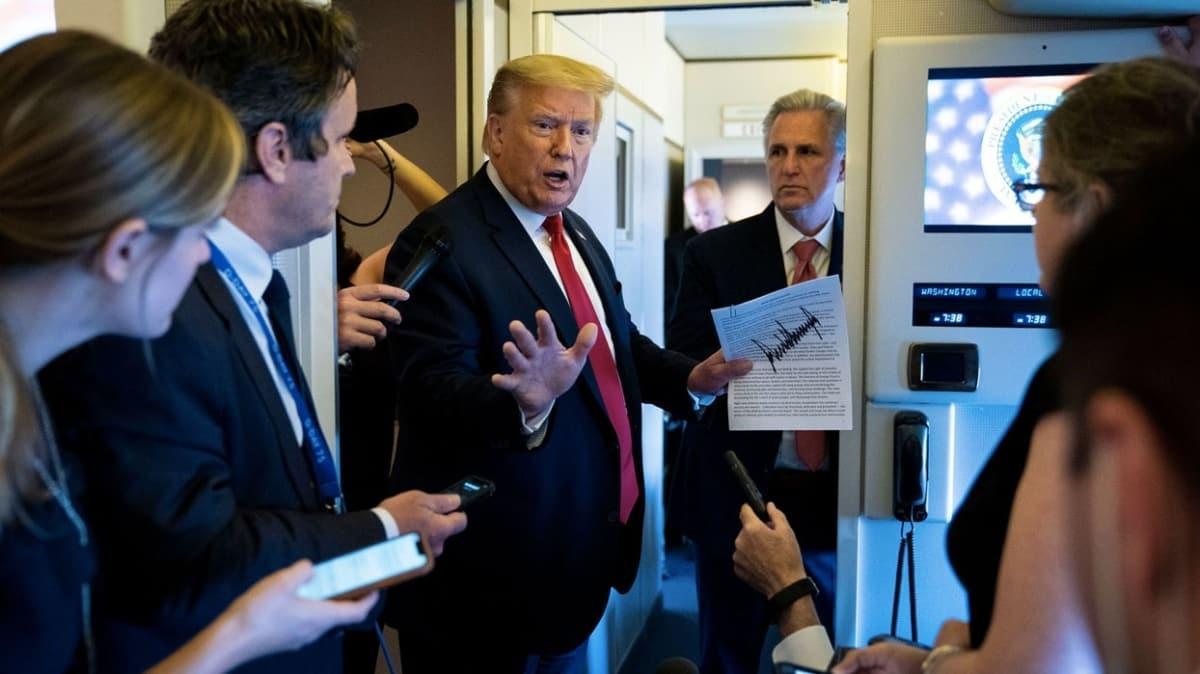 ABD Başkanı Trump G-7 Liderler Zirvesi'nin eylüle ertelendiğini açıkladı
