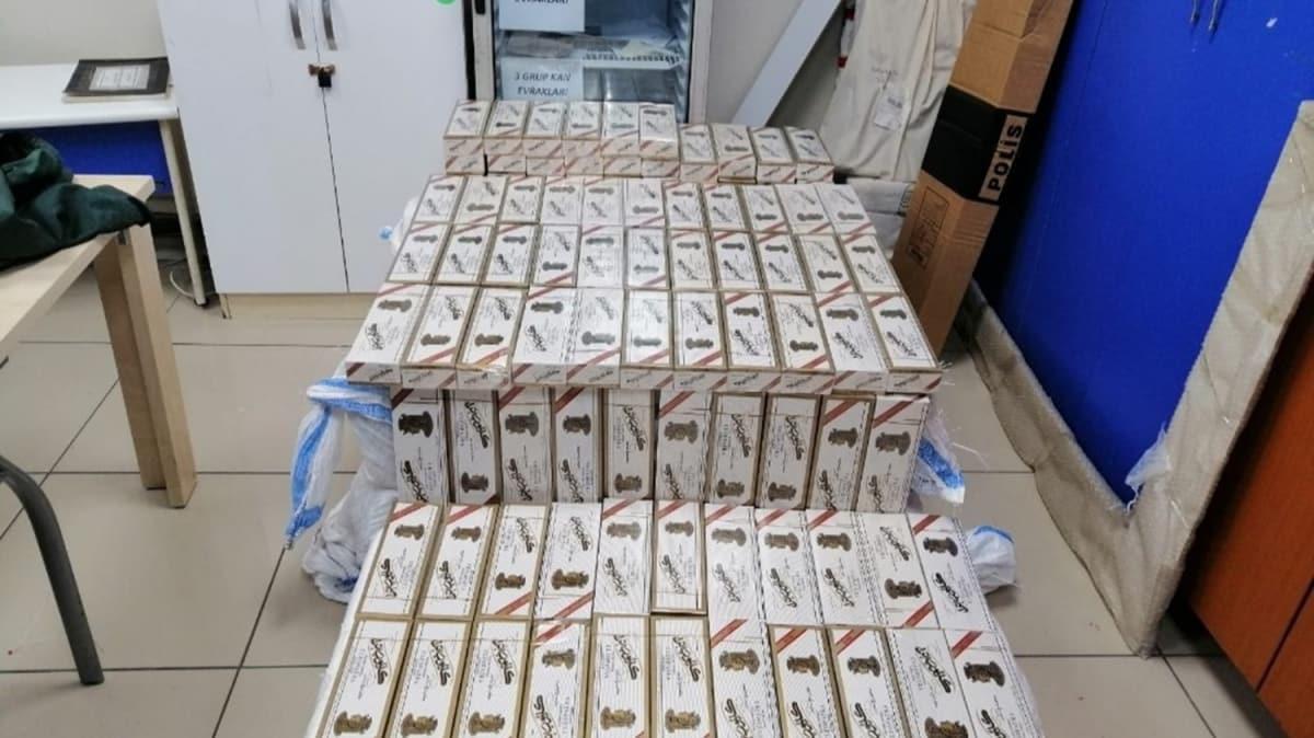 Bağcılar'da kaçak sigara operasyonu: 6 bin paket sigara ele geçirildi