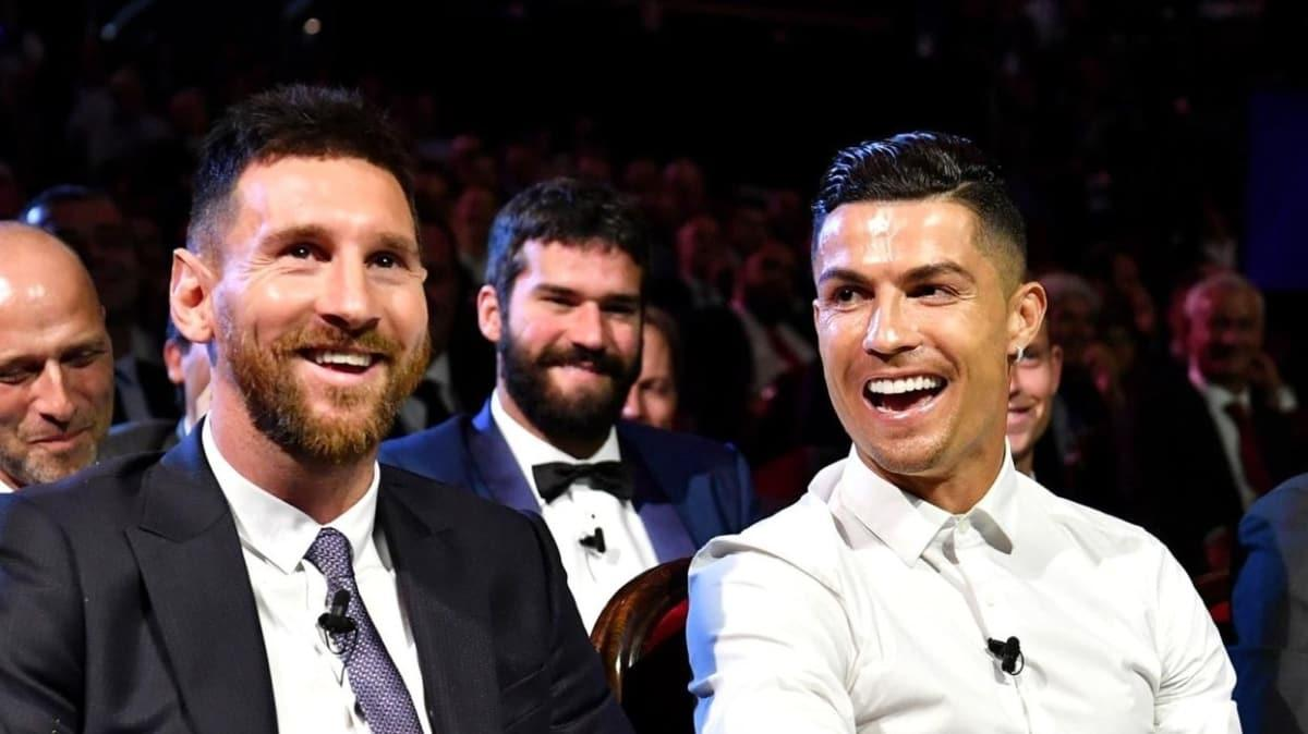 """Efsane Ronaldo noktayı koydu! Cristiano mu, Lionel mi"""""""