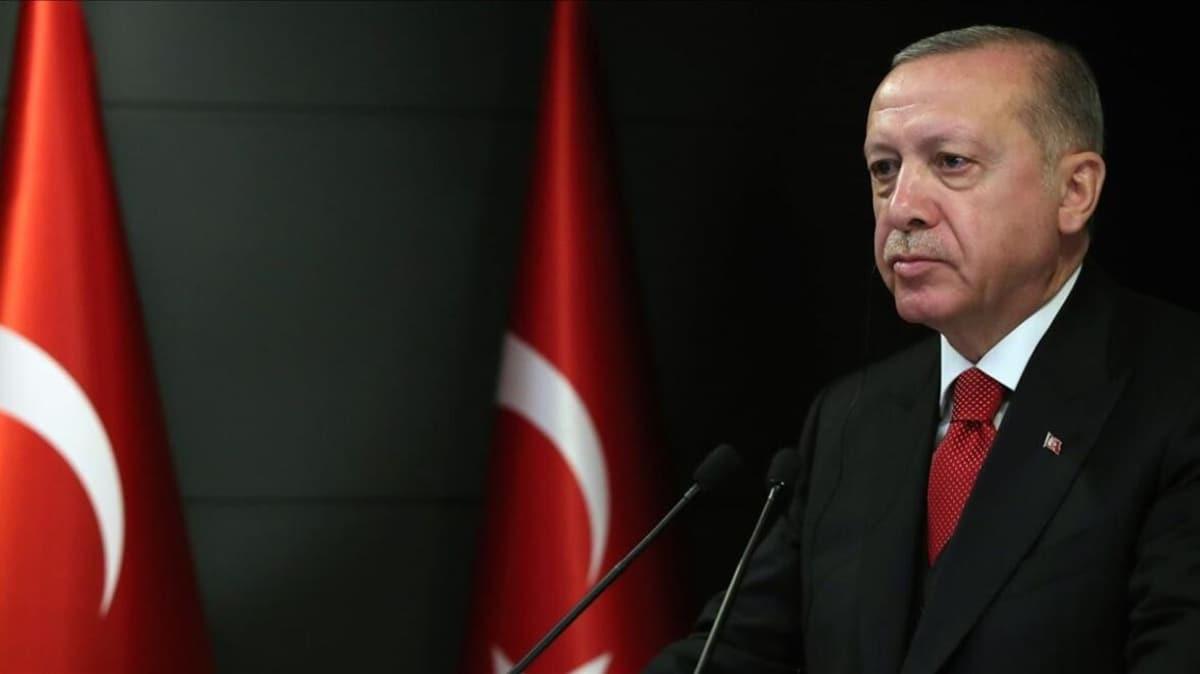 Başkan Erdoğan'dan şehit polis memurunun ailesine başsağlığı