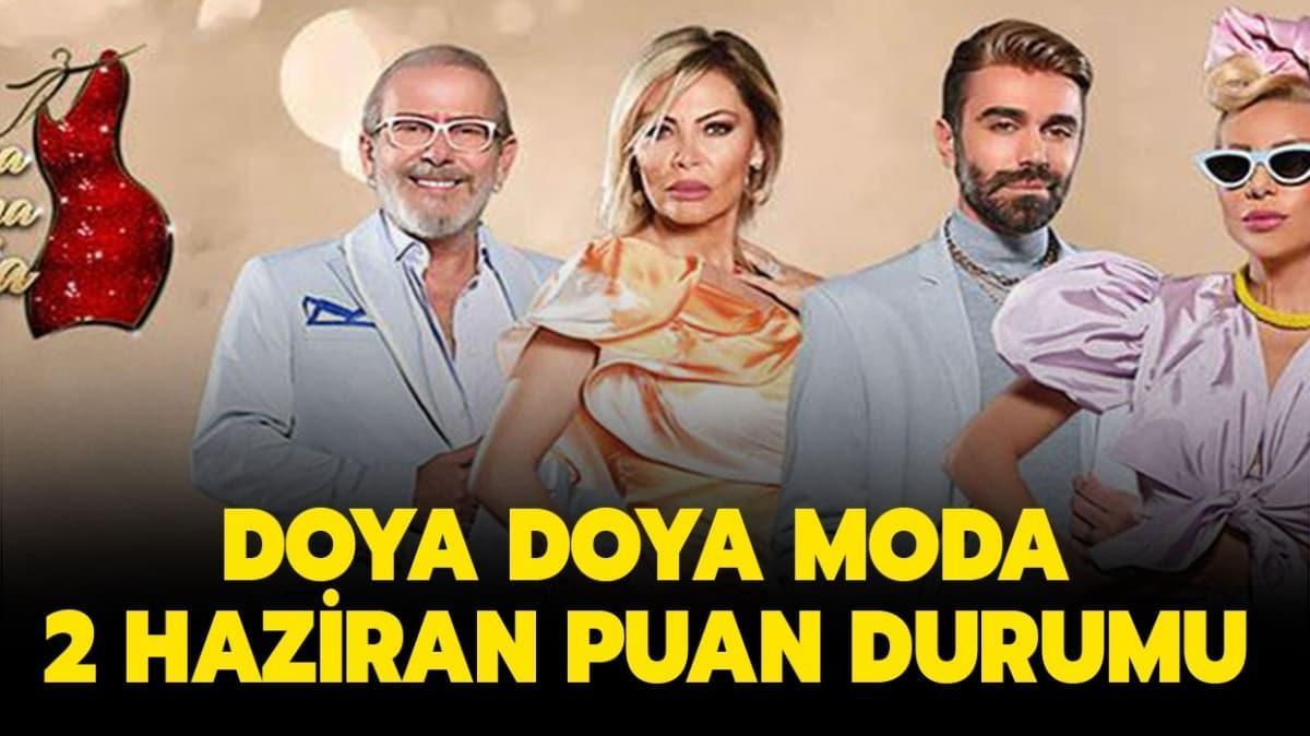 Doya Doya Moda 2 Haziran 2020 puan durumu tablosu!