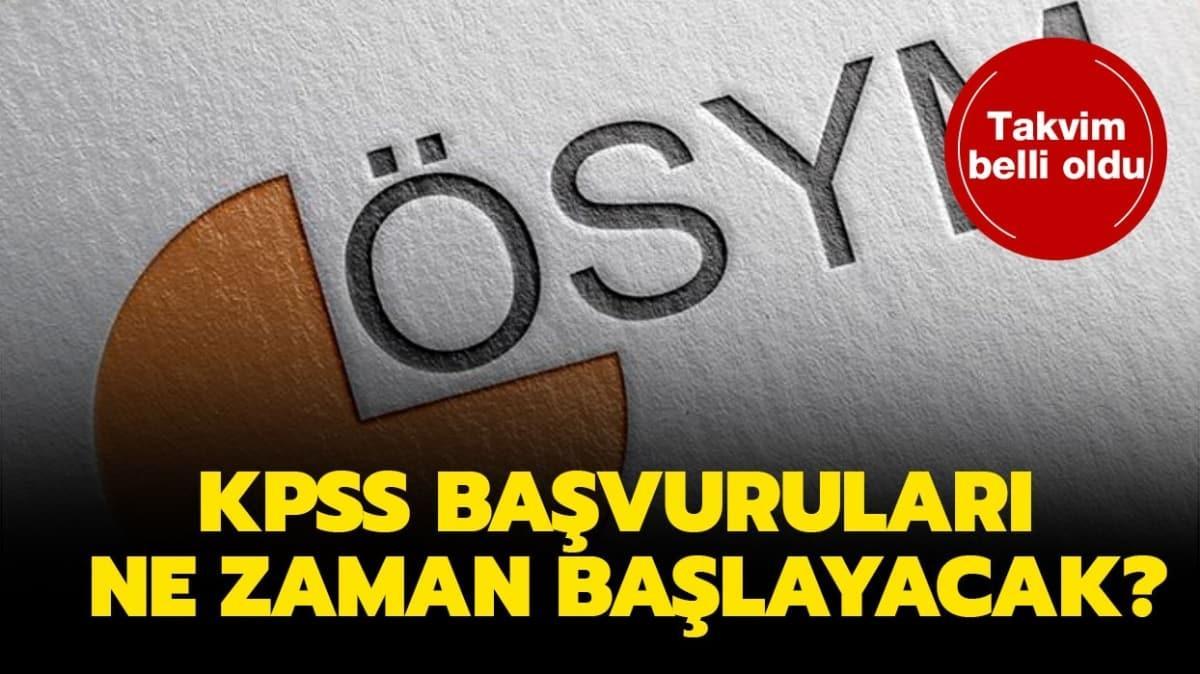 """KPSS başvuruları başladı mı"""""""