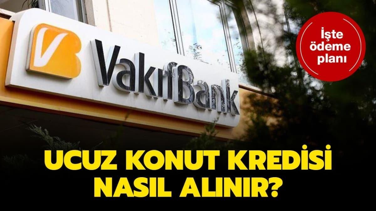 """Vakıfbank 0,64 konut kredisi nasıl alınır"""" Vakıfbank destek kredi paketi şartları nelerdir"""""""