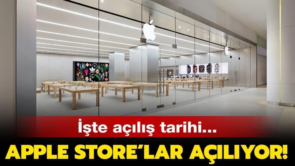 """Apple mağazaları ne zaman açılacak"""" Apple Store'ların açılış tarihi belli oldu!"""