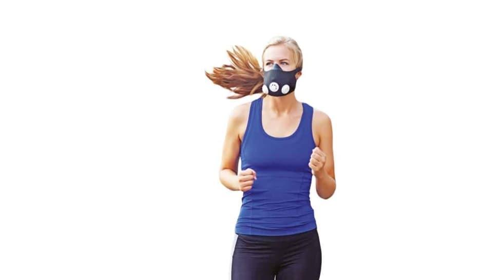 Spor yaparken maske takmak riskli
